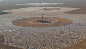 ivanpah Güneş Enerjisi Kuleleri ve Güneş Enerjisi Tarlası